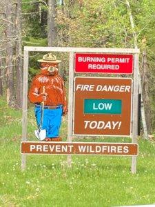 Low Fire Danger